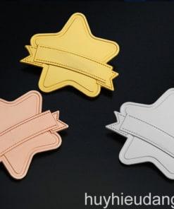 Huy hiệu đồng cài áo 6