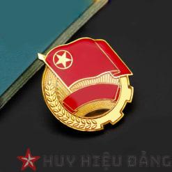 Huy hiệu đồng cài áo 14