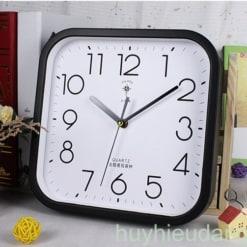 Đồng hồ treo tường 16 màu đen